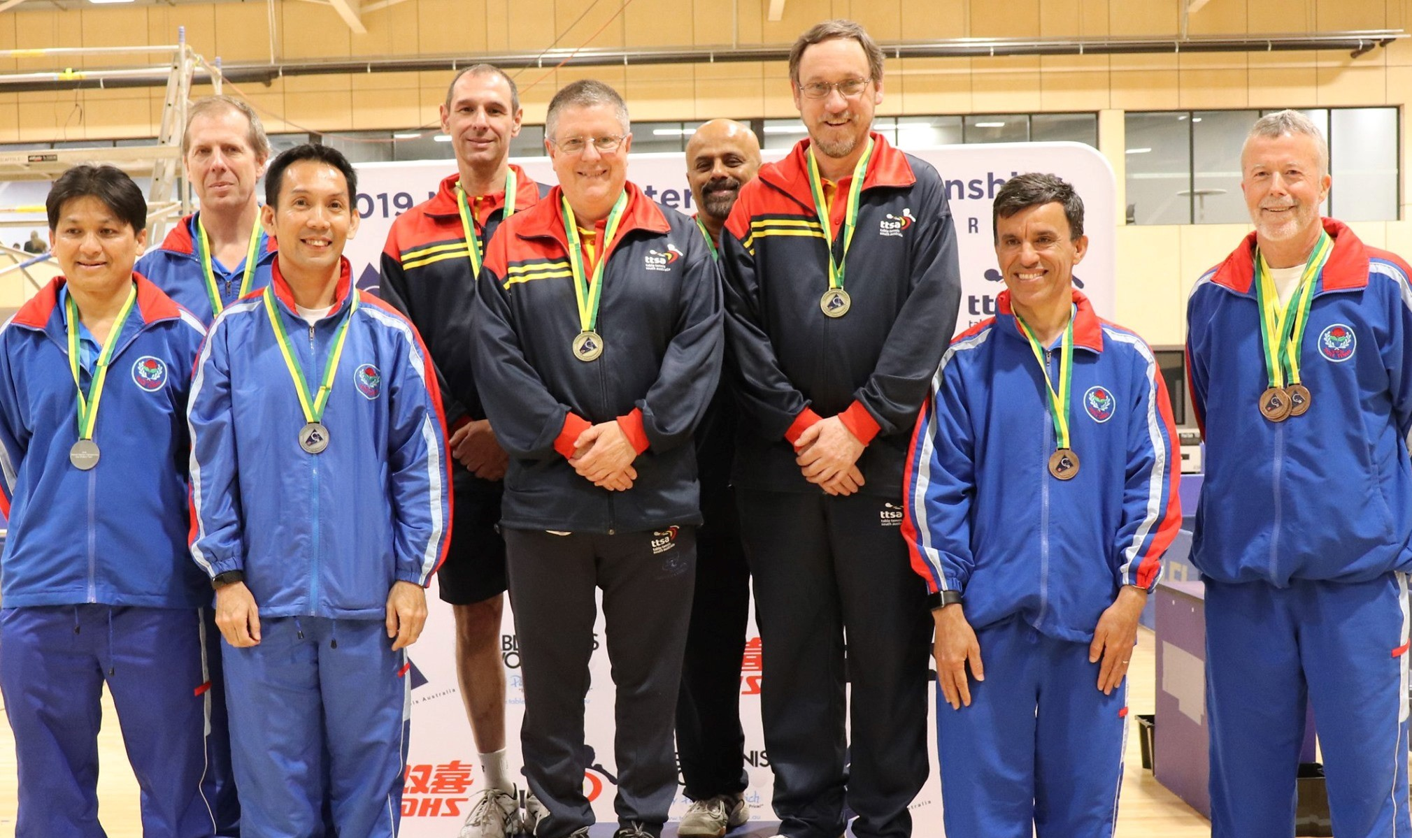 News from the team: Steve Wins Gold!