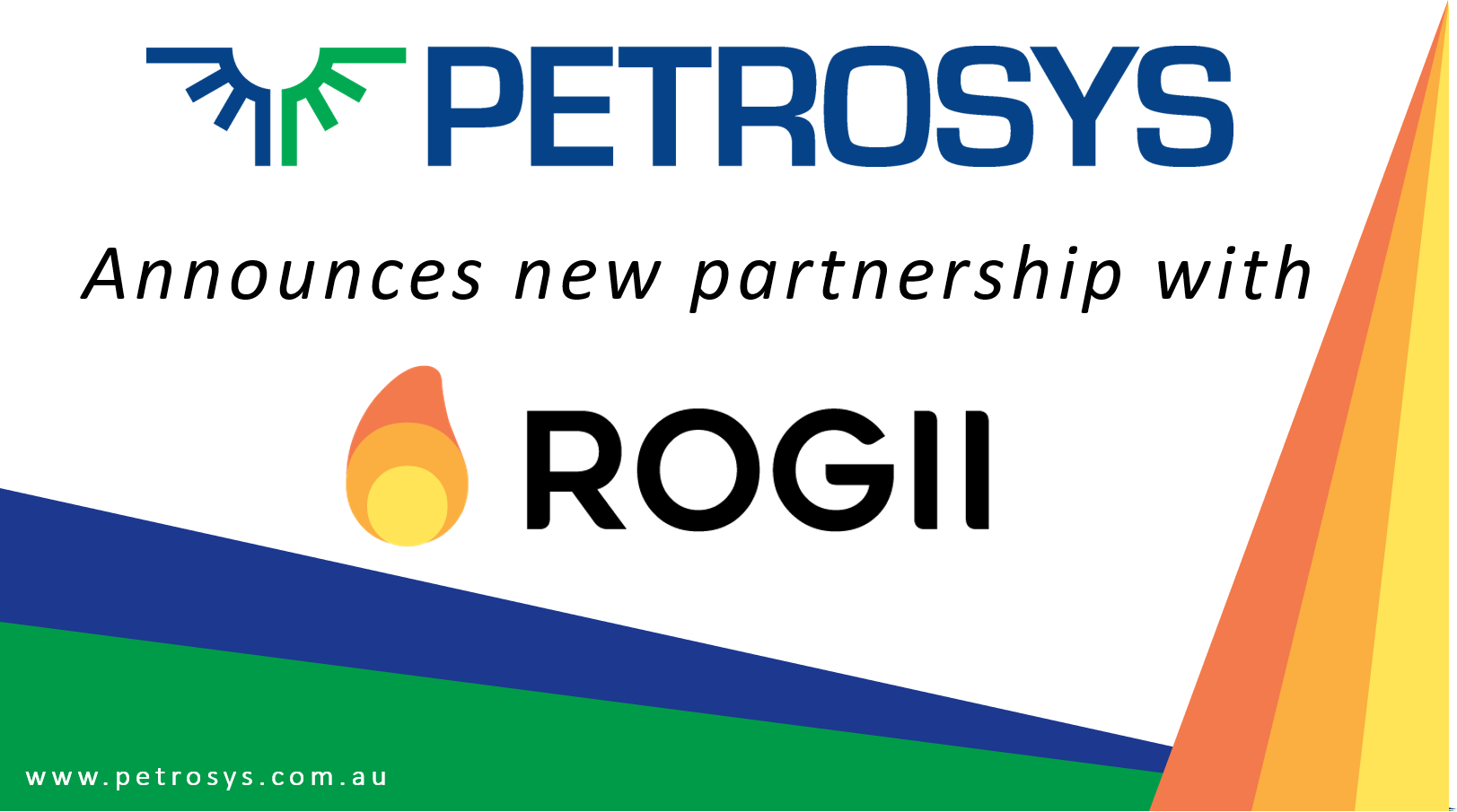 Petrosys announces partnership with ROGII