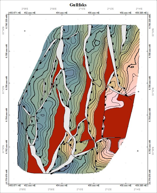 Figure 11: Accumulation boundaries