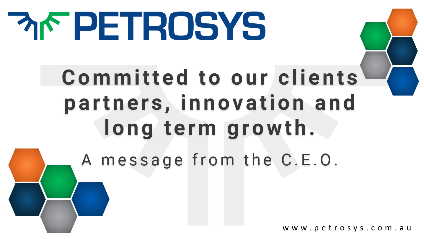 Petrosys - a message from the CEO
