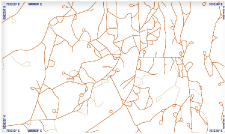 Display roads from an ArcSDE GIS database