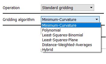 Gridding Algorithms / operations