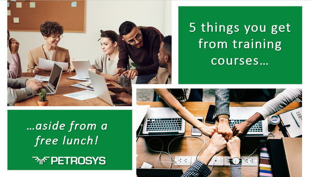 5 things you get from training courses…aside from a free lunch!