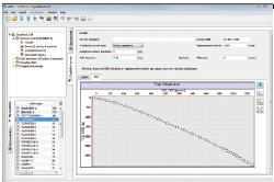 Checkshots y velocidades apiladas pueden ser utilizadas en flujos de trabajo para la conversión profundidad en Petrosys.