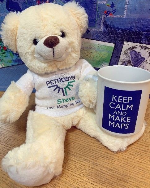 Steve Bear Keep Calm and make maps