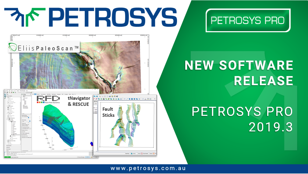 New Software Release Petrosys PRO 2019.3