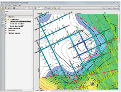 Layered PDF's allow users of your maps to switch on and off data types to explore your subsurface presentation in PDF reading tools such as Adobe Reader.