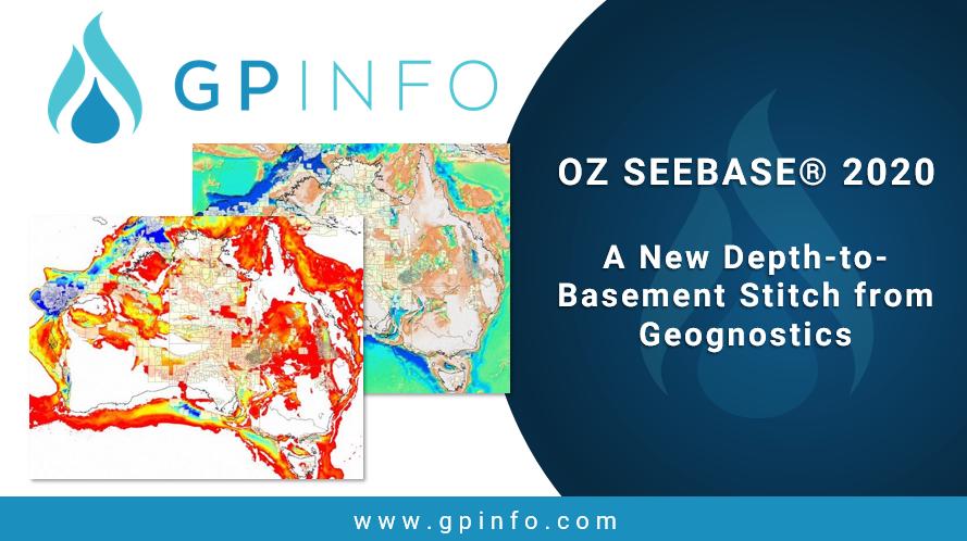 OZ SEEBASE® 2020 – A New Depth-to-Basement Stitch from Geognostics